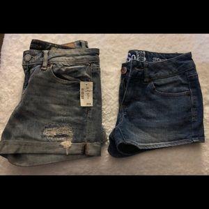 Jean shorts size 0